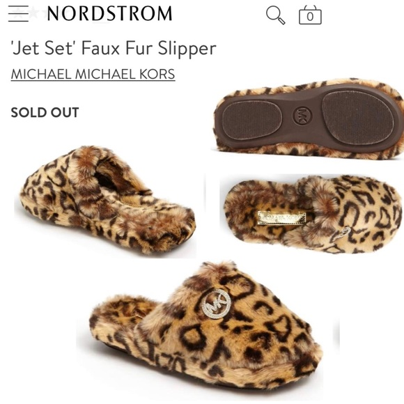f6e5cf64e442 Jet Set Vegan Fur Casual Slippers Leopard Cheetah